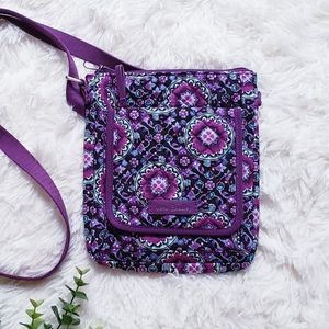 Vera bradley lilac medallion purple crossbody bag